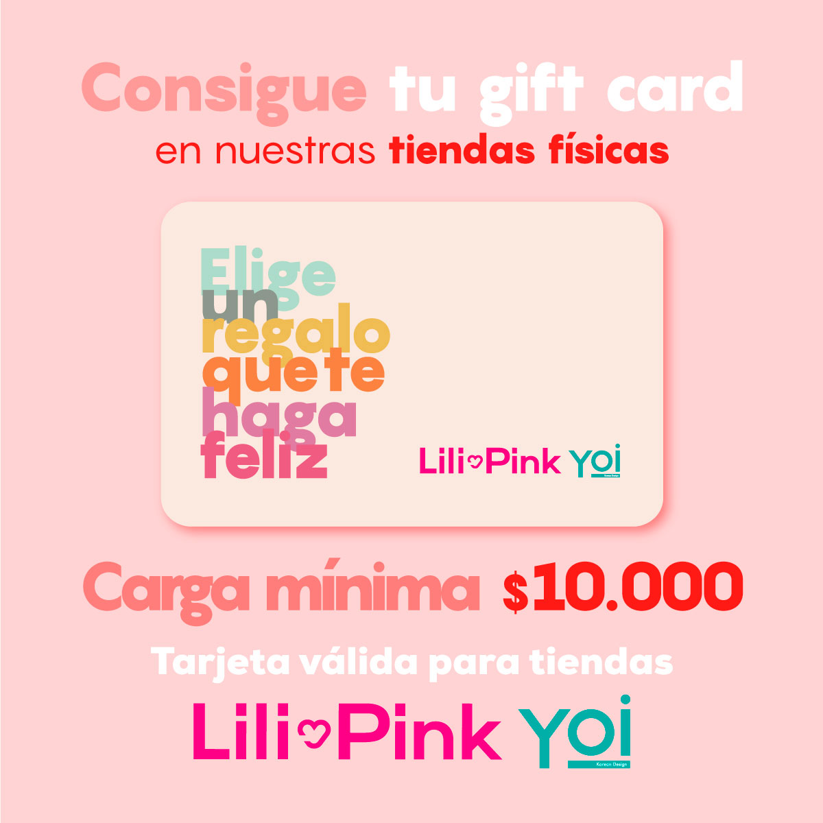 #GiftcardLilipinkYoi