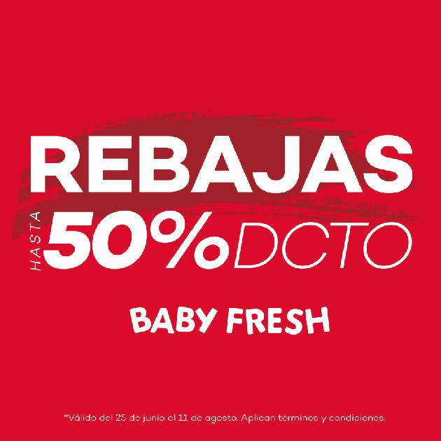 REBAJAS BABY FRESH