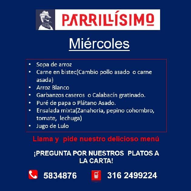 Miércoles de Parrillisimo