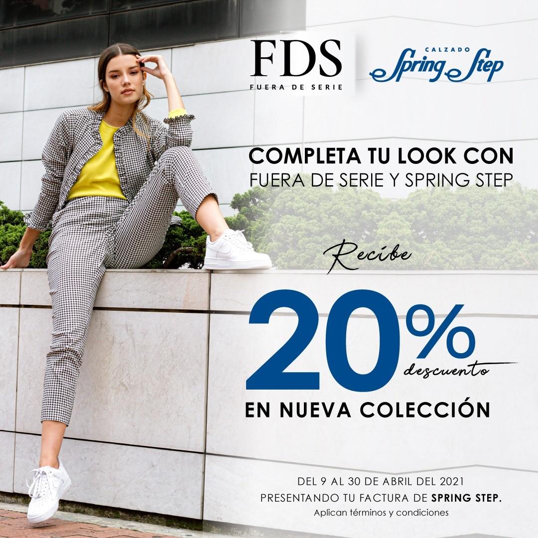 ¡COMPLETA TU LOOK CON FUERA DE SERIE Y SPRING STEP!