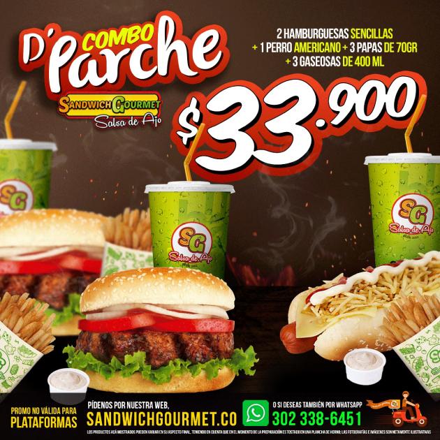 D' PARCHE COMBO