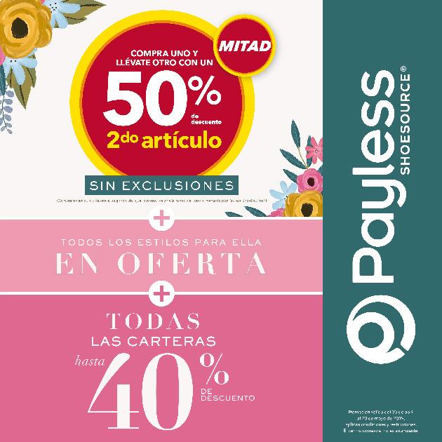 COMPRA UNO Y LLÉVATE OTRO CON UN 50%