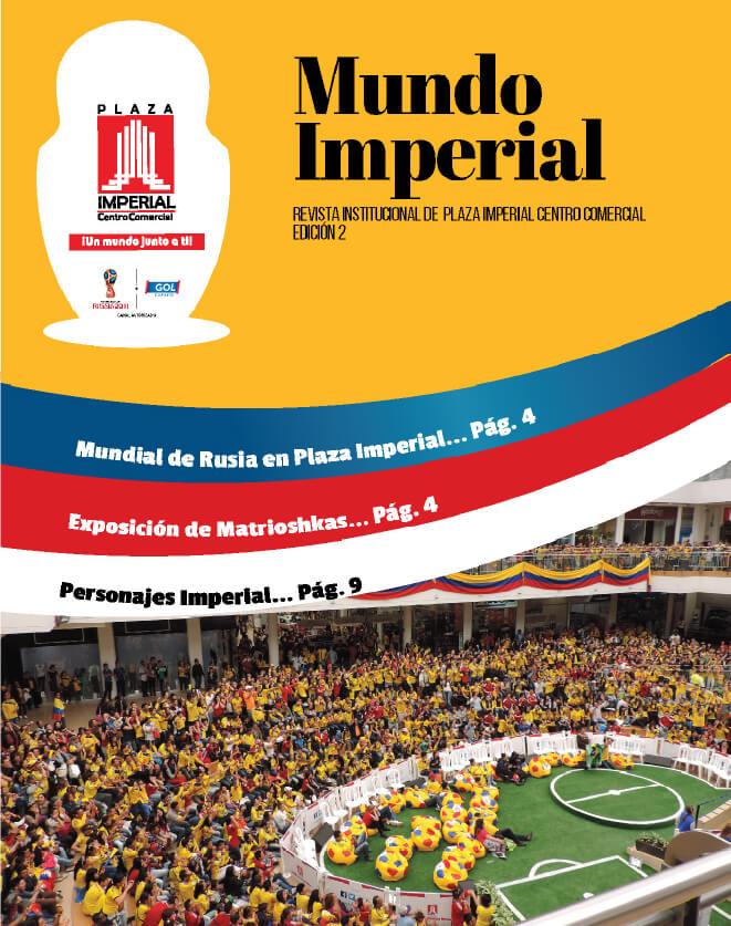 Portada Mundo Imperial Edición 2 | 01 de Abril 2018