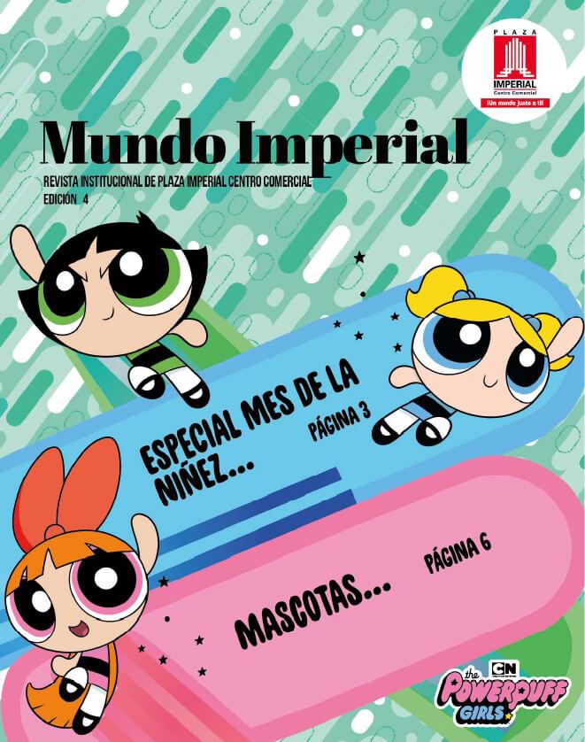 Portada Mundo Imperial Edición 4 | 01 de Octubre 2018