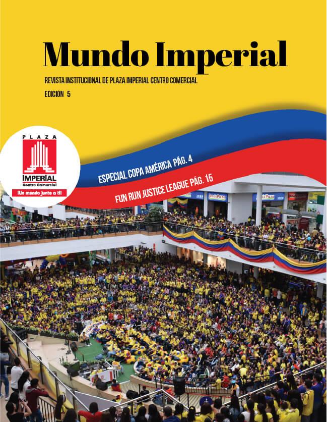 Portada Mundo Imperial Edición 5 | 01 de Abril 2019